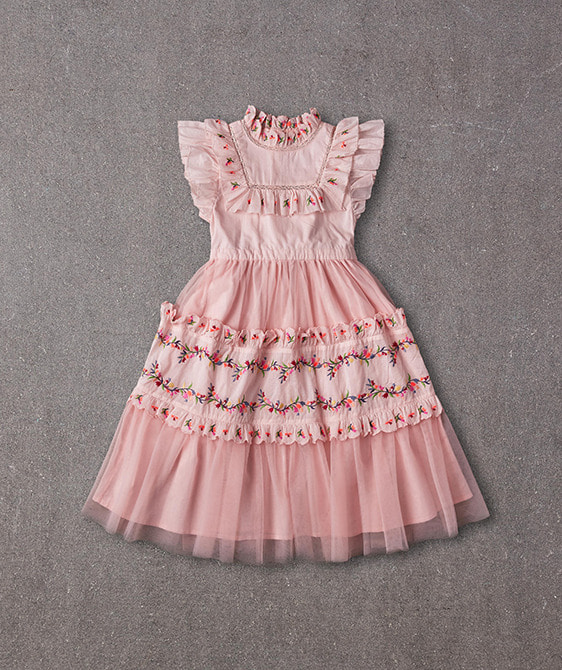 Julianna Dress (N20S061) - Peaches