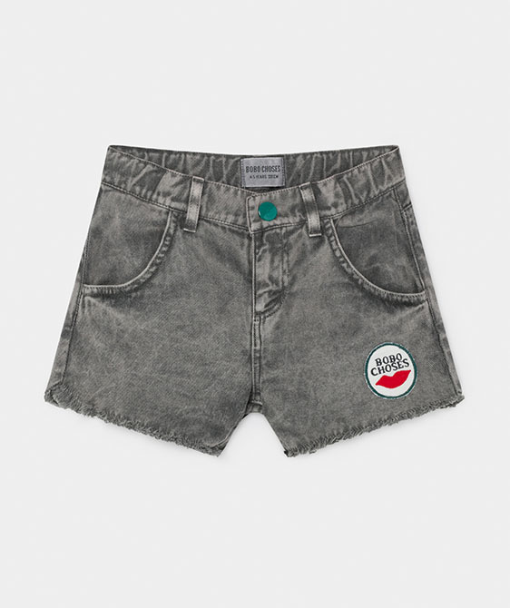 Kiss Woven Shorts (Kid) #01076