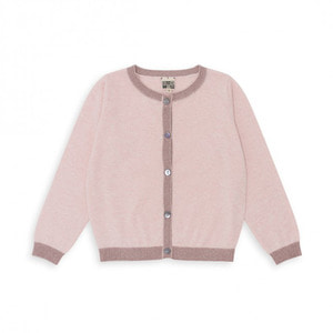 Baby & Kid Contrasting Cardigan - Rose