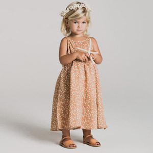 Pebble Zoe Maxi Dress - Terra Cotta  (Kid/Mom) ★ONLY MOM -M★