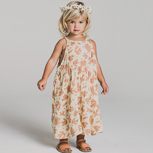 Sealife Zoe Maxi Dress - Ivory  (Kid/Mom) ★ONLY MOM★