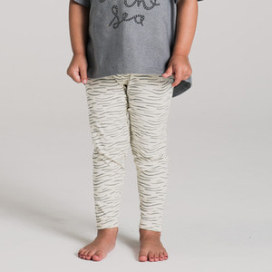 Ocean Waves Leggings - Ginger