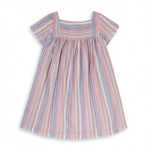 Striped Dress - Ray Rose & Marron ★ONLY 4Y★