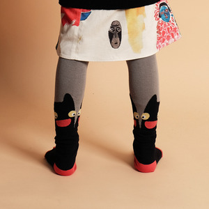 Cat Tights (baby/Kid) - Black ★ONLY 18-24M★