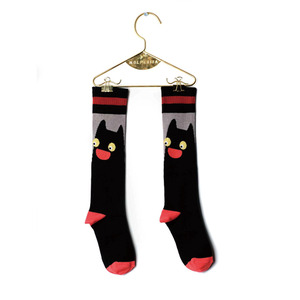 Cat Socks (baby/Kid) - Black ★ONLY baby size★