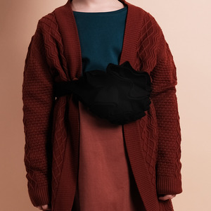 [균일가] Margarida Scarf - Black