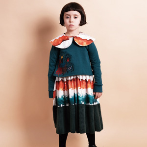 Palmira Dress - Watercolor Stripes