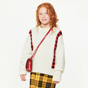 Bands Bull Kids Sweater -  Raw White ★ONLY 3Y★