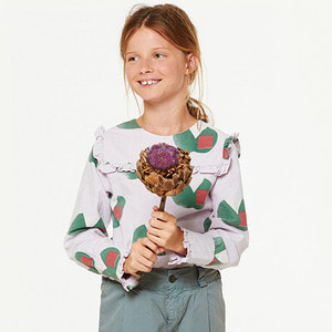 Gadfly Kids Shirt - Purple Apples ★ONLY 6Y★