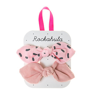 Sprinkles Bow Clips - Pink ★LAST ONE★