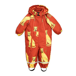 Alaska Cougars Baby Overall - Red ★ONLY 86★