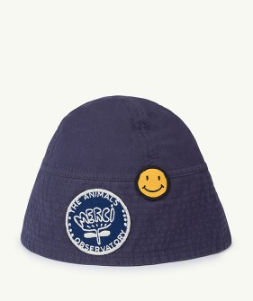 Starfish Babies Hat - Navy Blue