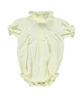 Ofelia Romper - Light Yellow
