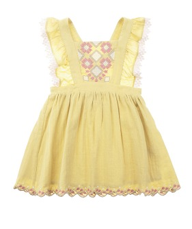 Pinea Dress - Soft Yellow