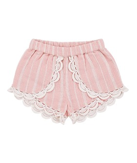 Kai Shorts - Blush Stripes