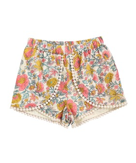Kai Shorts - Multi Flowers ★ONLY 8Y★
