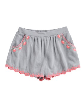 Florida Shorts - Silver Cloud ★ONLY 8Y★
