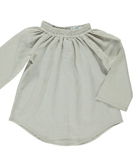 Lydia Blouse - Taupe