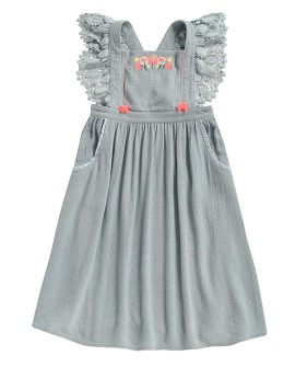 Hawai Dress - Silver Cloud