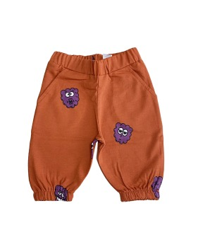 Knee Sweat Shorts - Purple Raspberry