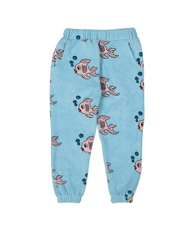 Terry 80's Sweat Pants - Blue Fish ★ONLY 6Y★