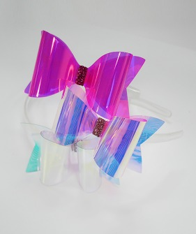 Neon Bow Hairband - 3Colors