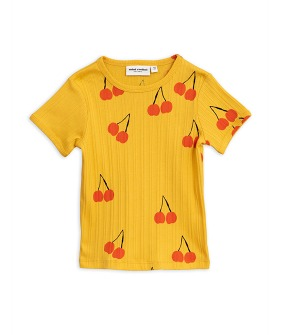Cherry SS Tee - Yellow
