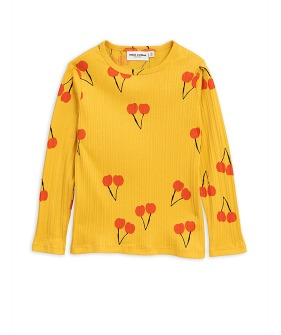 Cherry LS Tee - Yellow
