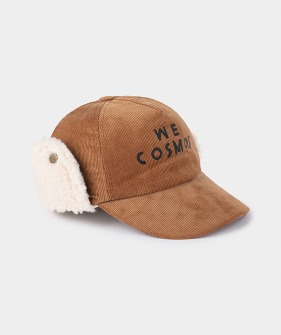 We Cosmos Sheepskin Cap #237 (Kids)