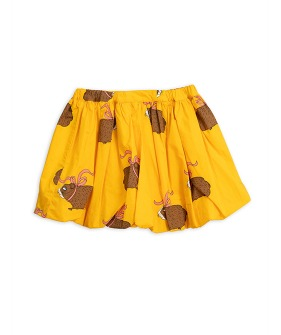 Posh Guinea Pig Balloon Skirt -  Yellow