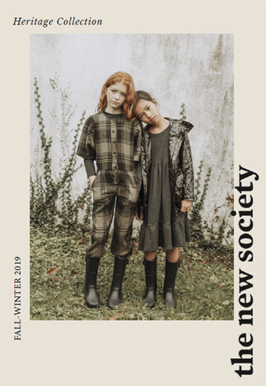 the new society FW19 Look Book