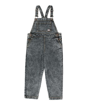Denim Overall - Snowy Black