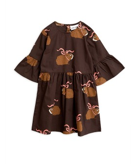 Posh Guinea Pig Dress  -  Brown