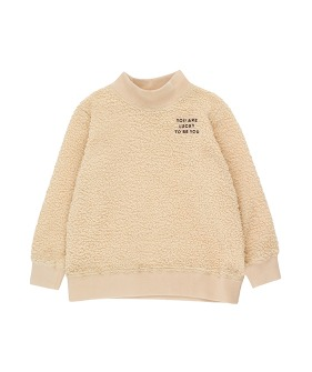 You Are Lucky Sweatshirt - Sand/Aubergine (Baby&Kid)