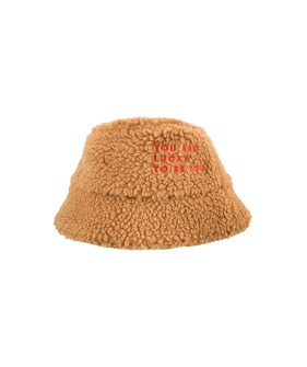 Sherpa Bucket Hat - Brown