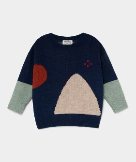 Bobo Jacquard Jumper #104 ★ONLY 2-3Y★