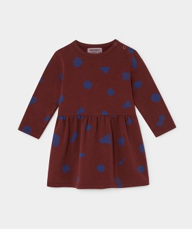 All Over Stuff Fleece Dress #188 ★ONLY 18-24M★