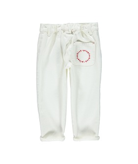 Unisex Trousers | Off White