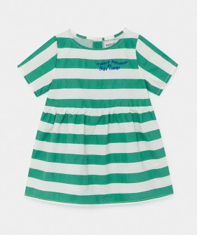 A Dance Romance Striped Dress (Baby) #00086