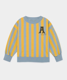 A Dance Romance Striped Sweatshirt (Kid) #01043