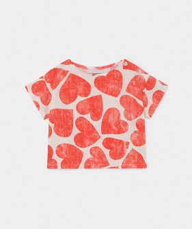 All Over Hearts Blouse  (Baby) #00079