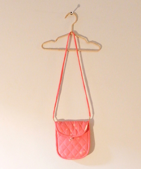 Padded Small Bag - Pink