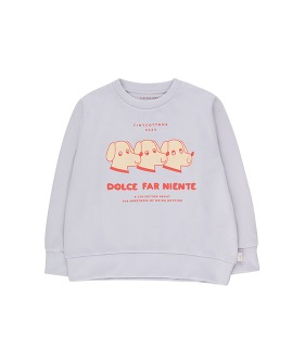 Dfn Dogs Sweatshirt - Light Lilac/Red ★ONLY 2Y★