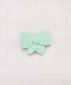 Medium Puff Bow - Mint