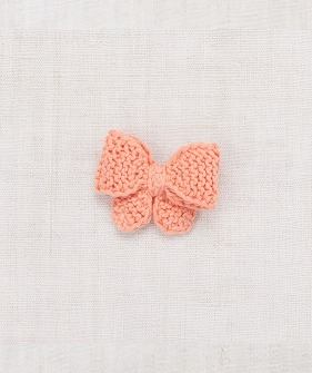 Medium Puff Bow - Coral