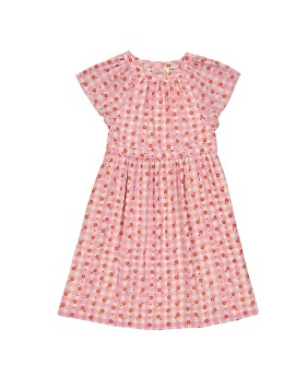 Cassiopée Dress  - Vichy Rose