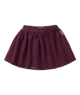 Skirt Ajour - Eggplant ★ONLY 7-8Y★