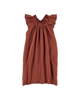 V01-Dress Long - Terracotta ★ONLY 6Y★