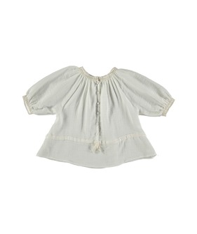 B03-Blouse Raglan Sleeve - Soft Beige ★ONLY 4Y★