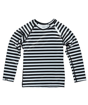 Stripe Tee Long Sleeve - Black/White